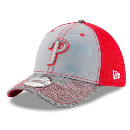 Adult New Era Philadelphia Phillies 39THIRTY Shadow Reflect Flex-Fit Cap