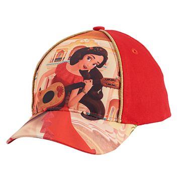 Disney's Elena of Avalor Toddler Girl Glittery Baseball Cap
