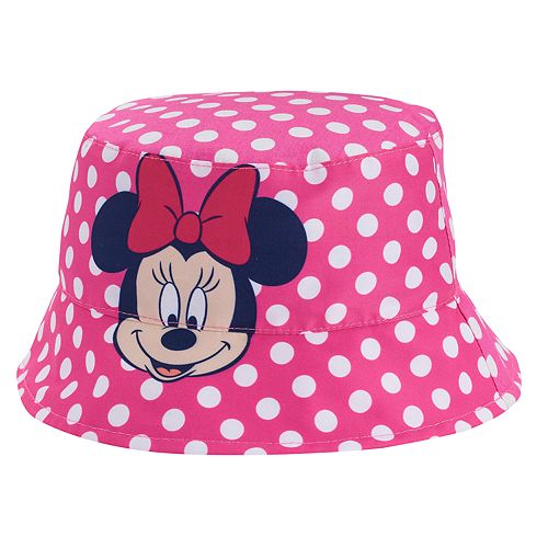 fa63a589115 Disney s Minnie Mouse Toddler Girl Reversible Bucket Hat