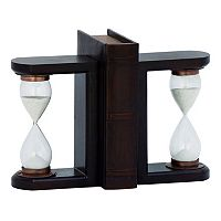 Traditional Hourglass Bookends 2-piece Set