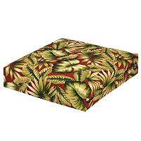 Plantation Patterns Outdoor Deep Seating Seat Cushion
