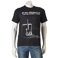 Men's Bruce Springsteen and the E Street Band Guitar With Amp Band Tee