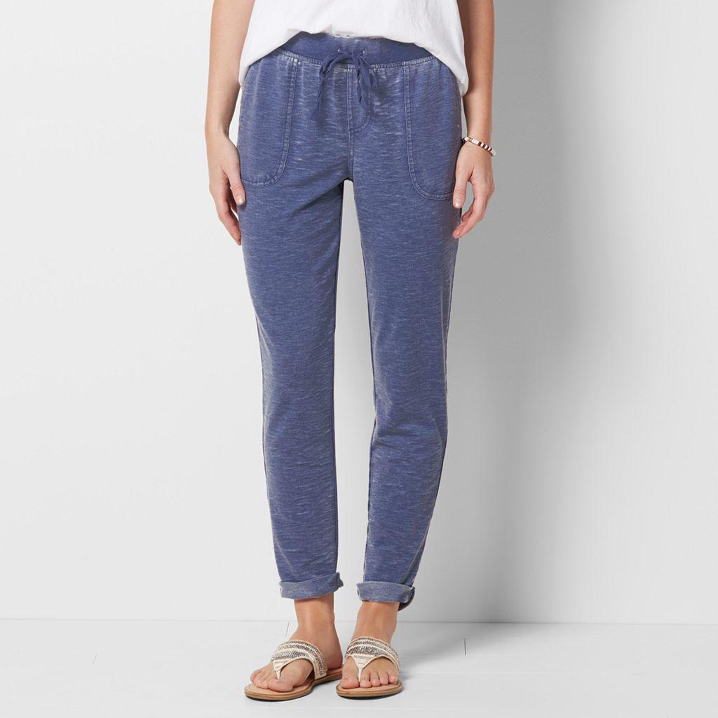 Women's SONOMA Goods for Life™ Beach Fleece Cuffed Pants