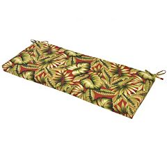 Plantation Patterns Outdoor Bench Cushion
