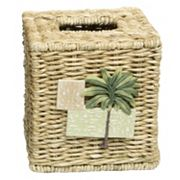 Bacova Citrus Palm Tissue Box