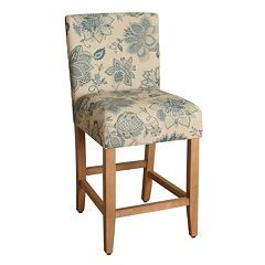 HomePop Finley Printed Counter Stool