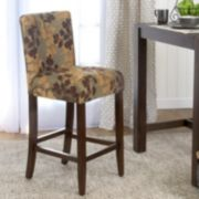 HomePop Upholstered Armless Counter Stool