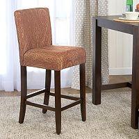 HomePop Upholstered Armless Bar Stool