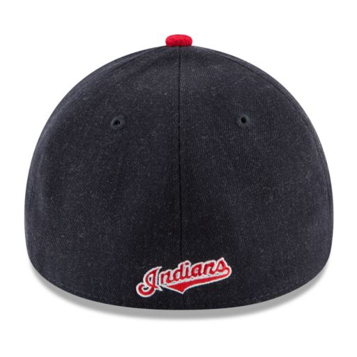 Adult New Era Cleveland Indians Change Up Redux 39THIRTY Fitted Cap