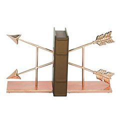 Crossed Arrows Bookends 2-piece Set