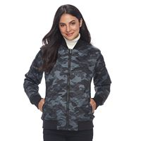 Women's Columbia Hawlings Hill Thermal Coil® Quilted Bomber Jacket