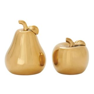 Apple & Pear Table Decor 2-piece Set