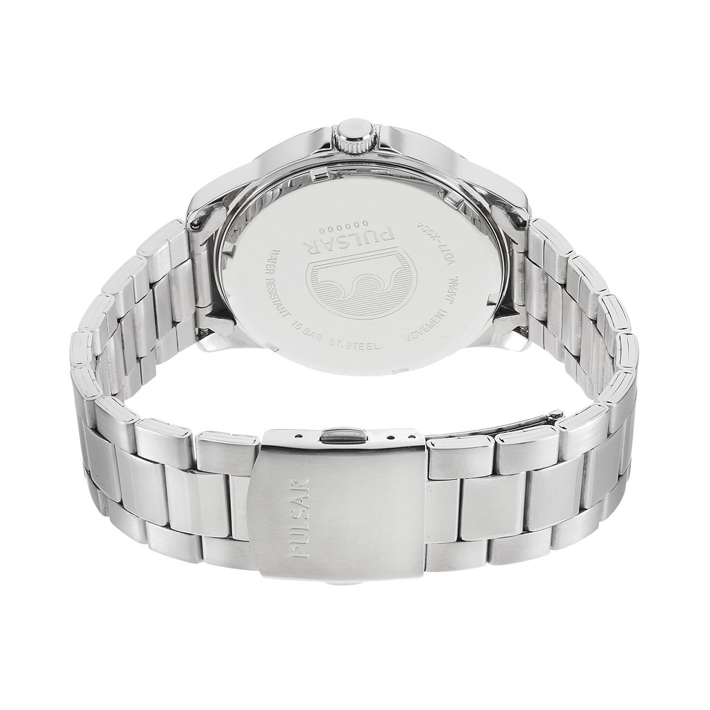 Pulsar Men's Stainless Steel Watch - PSA001X