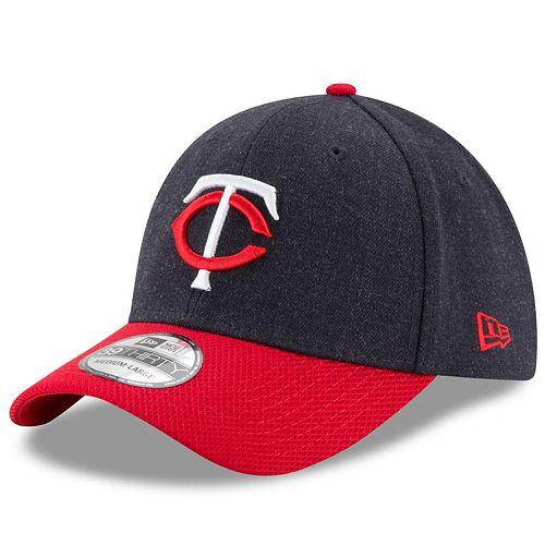Adult New Era Minnesota Twins Change Up Redux 39THIRTY Fitted Cap