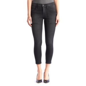 Women's Rock & Republic® LYCRA Beauty Black Crop Jean Leggings