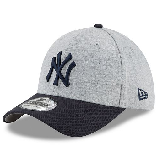 New Era 59Fifty Hat Mens MLB New York Yankees 2 Tone Black Gray Fitted Cap 7 3//4