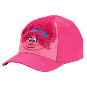 Toddler Girl Dreamworks Trolls  Fuzzy Poppy Baseball Cap