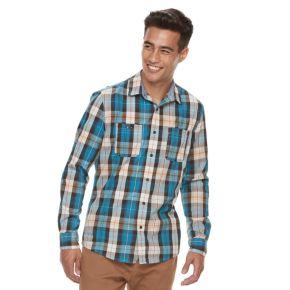 Men's Urban Pipeline® MexFlex Plaid Button-Down Shirt