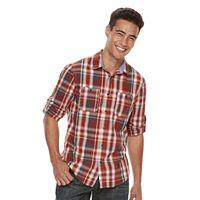 Men's Urban Pipeline® MaxFlex Plaid Button-Down Shirt