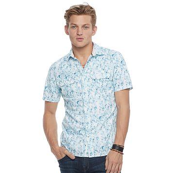 Men's Rock & Republic Stretch Button-Down Shirt