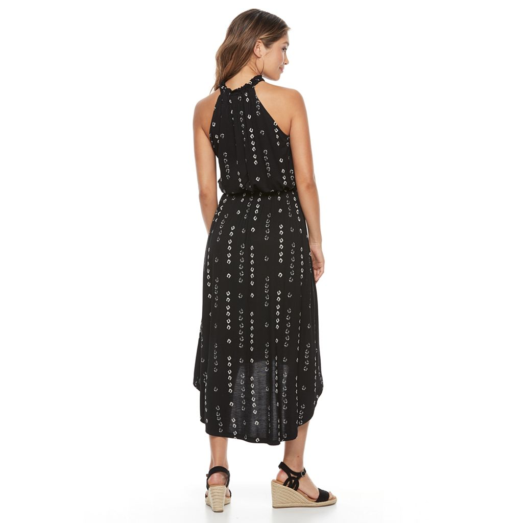 Petite Apt. 9® Printed High-Low Maxi Dress