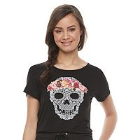 Disney Pirates of the Caribbean: Juniors Collection Skull Graphic Tee