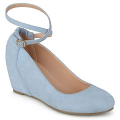 Journee Collection Tibby Women's Ankle Strap Wedges