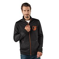 Men's Baltimore Orioles Player Full-Zip Lightweight Jacket