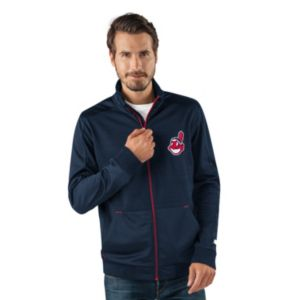 Men's Cleveland Indians Player Full-Zip Lightweight Jacket