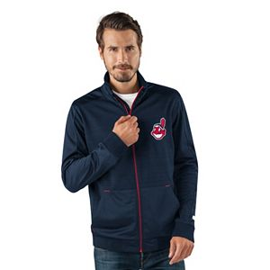 Men's Cleveland Indians Player Full-Zip Lightweight Jacket