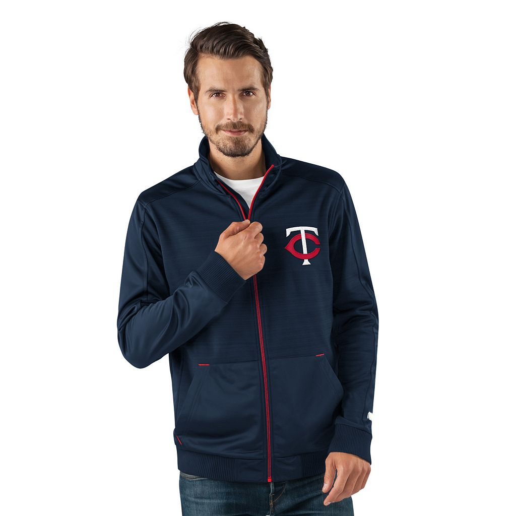 Men's Minnesota Twins Player Full-Zip Lightweight Jacket