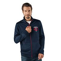 Men's Minnesota Twins Player Full-Zip Lightweight Jacket