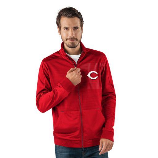 Men's Cincinnati Reds Player Full-Zip Lightweight Jacket