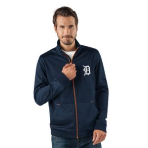 Men's Detroit Tigers Player Full-Zip Lightweight Jacket