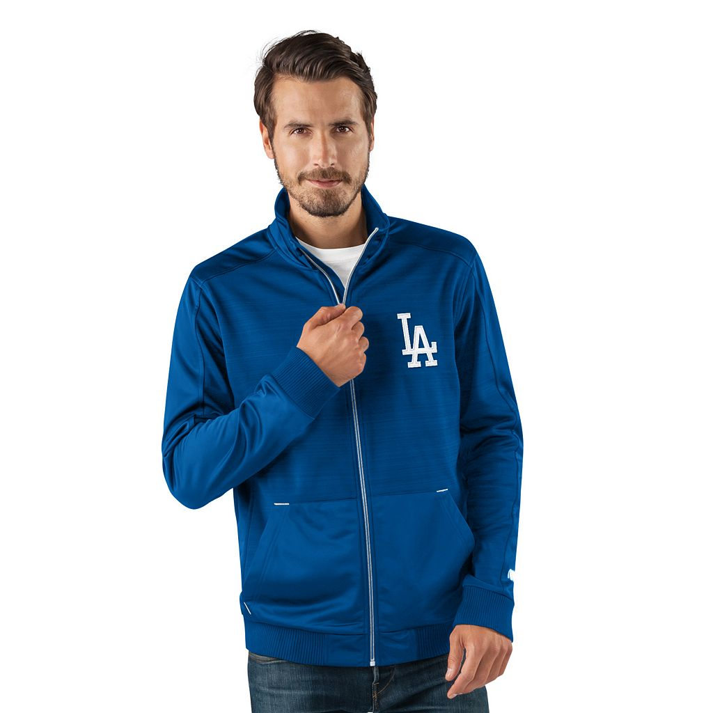 Men's Los Angeles Dodgers Player Full-Zip Lightweight Jacket