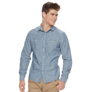 Men's Urban Pipeline® Workwear Button-Down Shirt