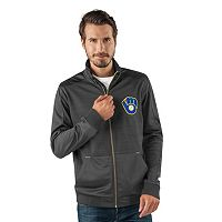 Men's Milwaukee Brewers Player Full-Zip Lightweight Jacket