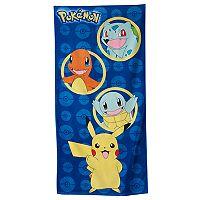 Pokémon Awesome Man Beach Towel