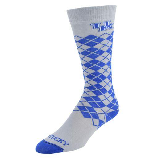 Men's Mojo Kentucky Wildcats Argyle Socks