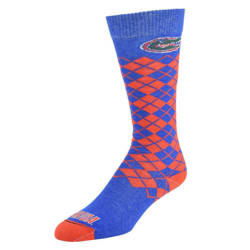 Men's Mojo Florida Gators Argyle Socks