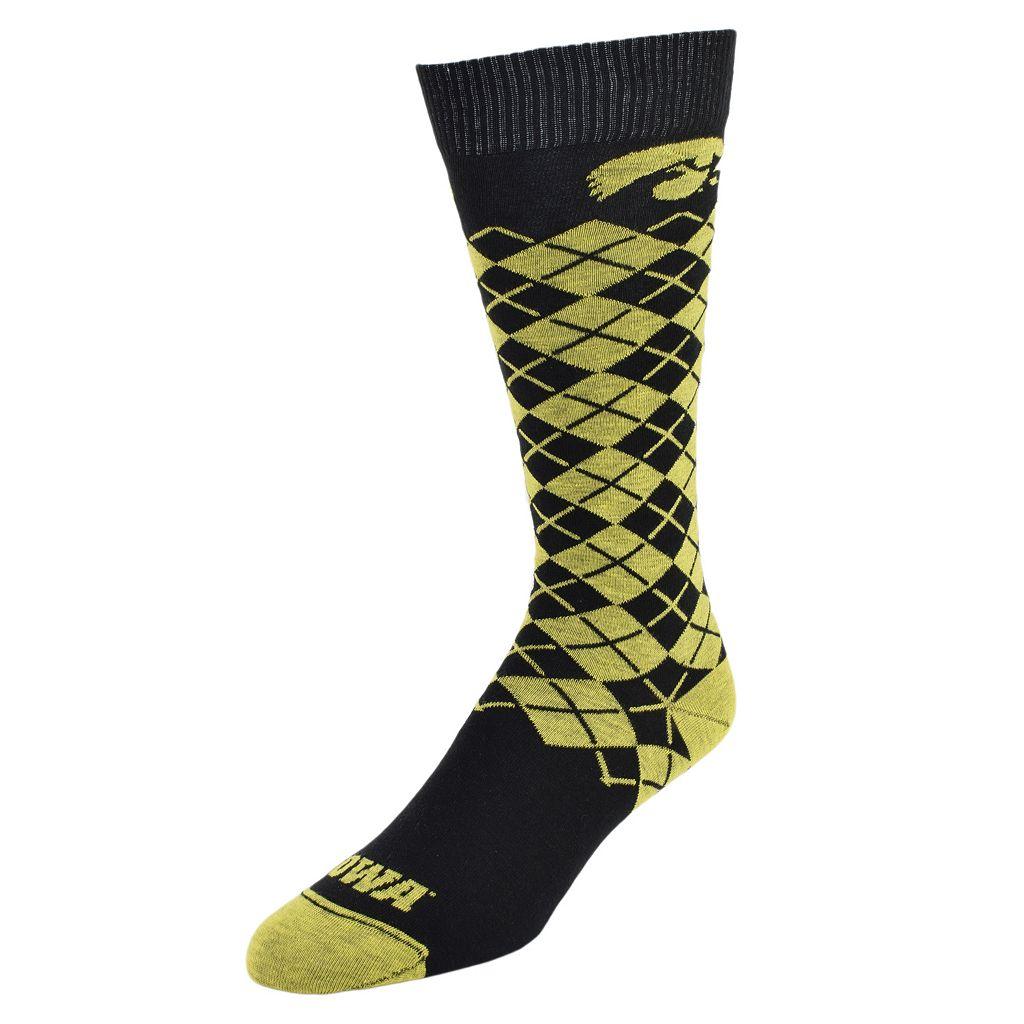 Men's Mojo Iowa Hawkeyes Argyle Socks