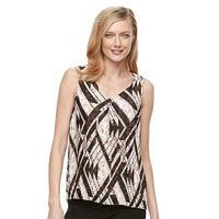 Women's Dana Buchman Accordion-Pleat Tank