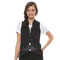 Disney Pirates of the Caribbean: Juniors Collection Chiffon Hem Vest
