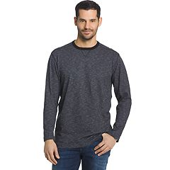Men's Arrow Classic-Fit Mock-Layer Crewneck Sweatshirt