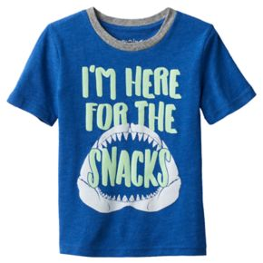 "Toddler Boy Jumping Beans® ""I'm Here for the Snack"" Jaws Graphic Tee"
