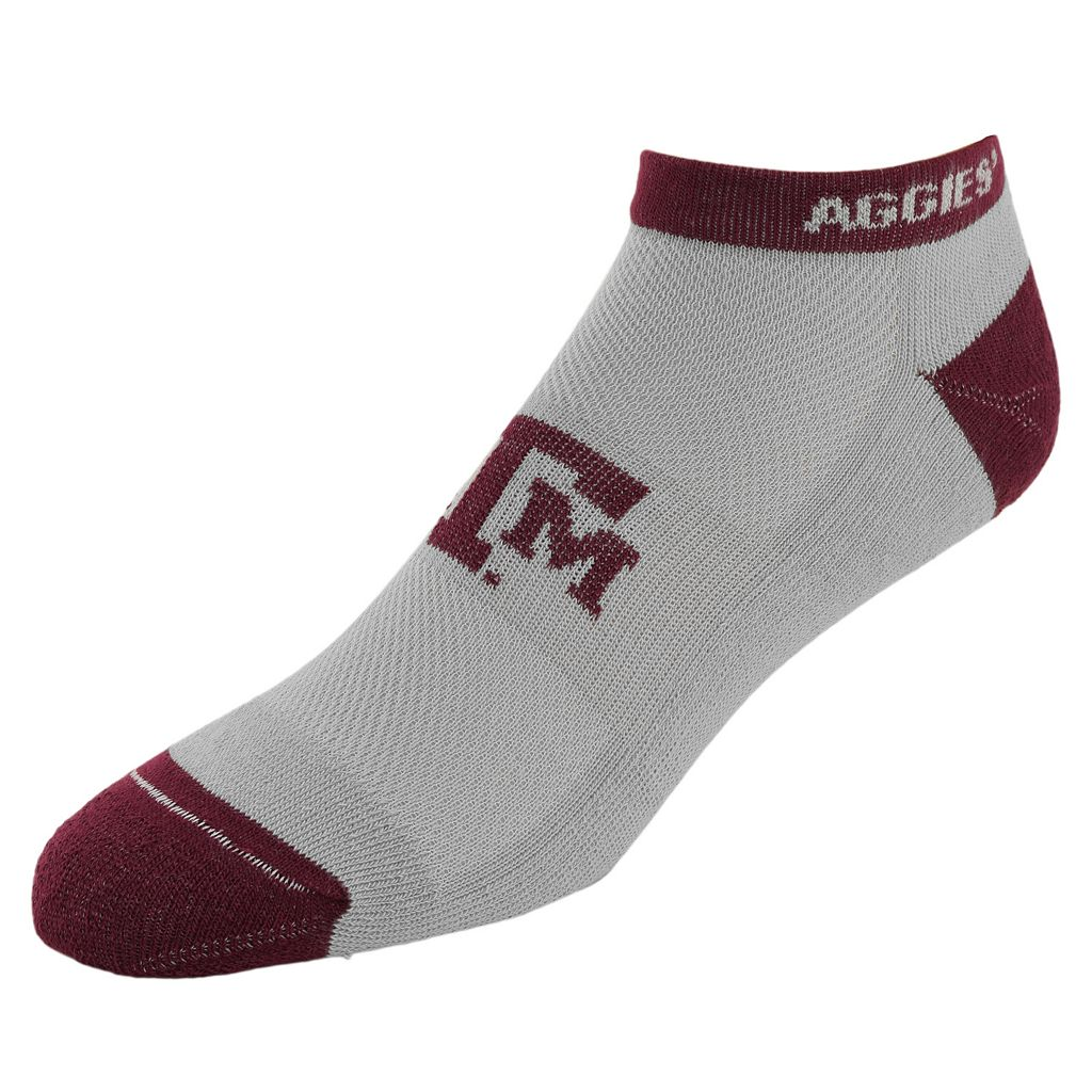 Men's Texas A&M Aggies Spirit No-Show Socks