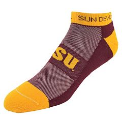 Men's Arizona State Sun Devils Spirit No-Show Socks