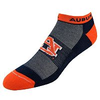 Men's Auburn Tigers Spirit No-Show Socks