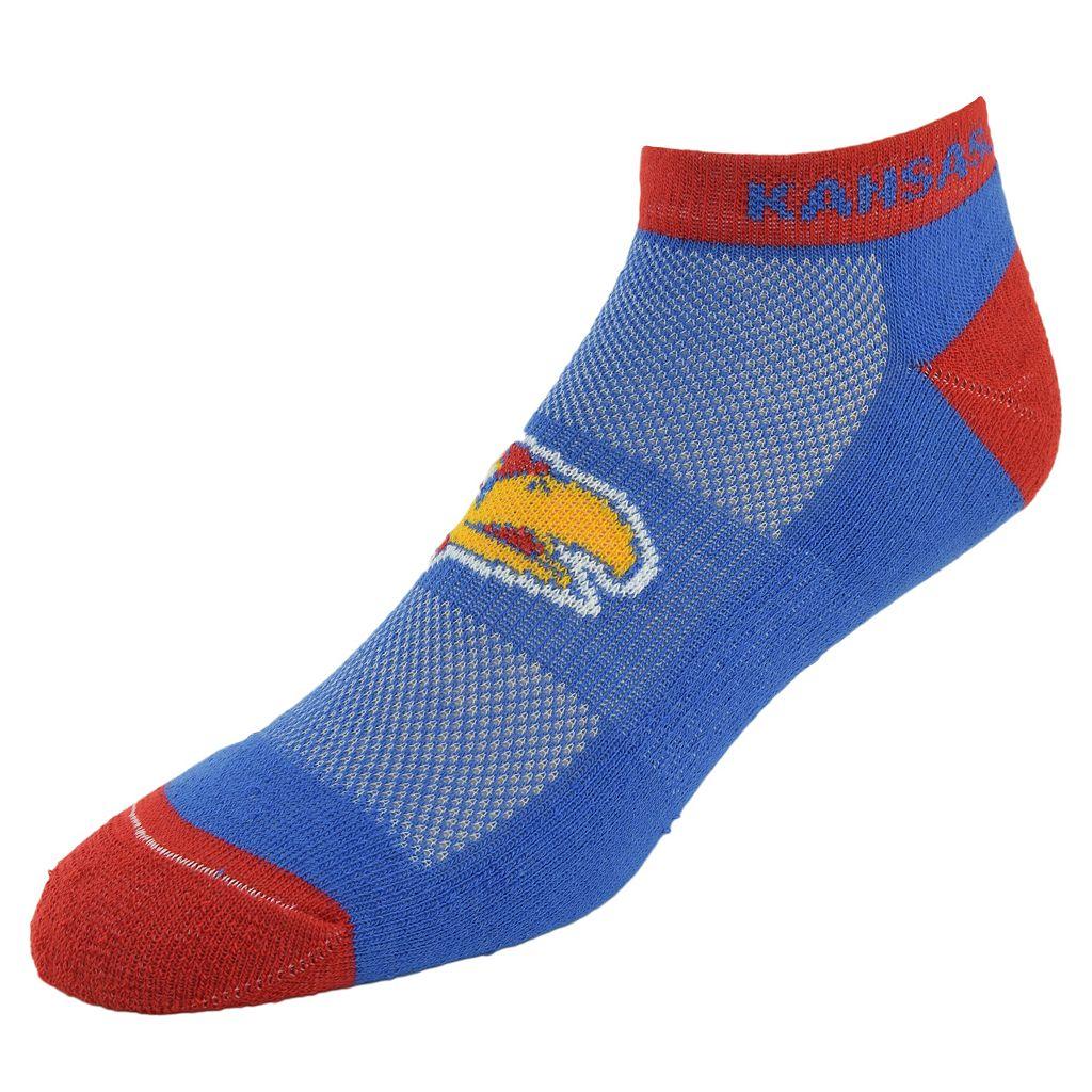 Men's Kansas Jayhawks Spirit No-Show Socks