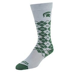 Women's Mojo Michigan State Spartans Argyle Socks
